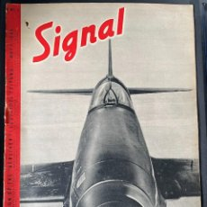 Militaria: SIGNAL 2 FROM 1940, ENGLISH LANGUAGE ISSUE. Lote 254182875