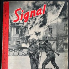 Militaria: SIGNAL 1 FROM 1940, GERMAN LANGUAGE ISSUE. Lote 254183615