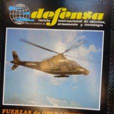 Militaria: REVISTA DEFENSA NUM.39 - JULIO 1981. Lote 254421160