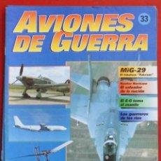 Militaria: AVIONES DE GUERRA PLANETA AGOSTINI. FASCÍCULO Nº 33. Lote 254490835