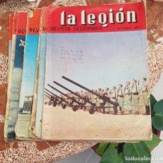 Militaria: 10 REVISTA LEGION ESPAÑOLA AÑOS 60, TERCIO DE EXTRANJEROS. Lote 257306440