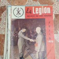 Militaria: 9 REVISTA LEGION ESPAÑOLA AÑOS 70, TERCIO DE EXTRANJEROS. Lote 257309035