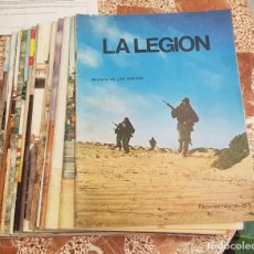 Militaria: 20 REVISTA LEGION ESPAÑOLA AÑOS 80, TERCIO DE EXTRANJEROS. Lote 257313320