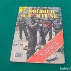 Militaria: REVISTA DE TEMÁTICA MILITAR SOLDIER OF FORTUNE DEL MES DE ABRIL DE 1984.. Lote 257555165