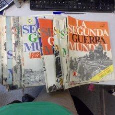 Militaria: LOTE 71 REVISTAS COLECCIONABLES DE LA SEGUNDA GUERRA MUNDIAL DE ED. CODEX EN MADRID 1967. Lote 258749100