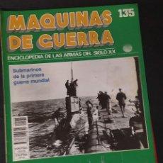 Militaria: MÁQUINAS DE GUERRA Nº 135. Lote 262154485