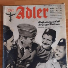 Militaria: REVISTA. DER ADLER. Nº 4 / BERLIN 25 FEBRUAR 1941 (ALEMÁN / ESPAÑOL). Lote 262237630