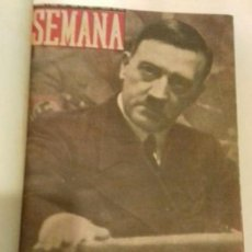 Militaria: TOMO REVISTA SEMANA II GUERRA MUNDIAL 1940. Lote 263082480