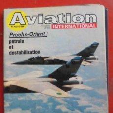 Militaria: AVIATION INTERNATIONAL Nº 752. Lote 263099335