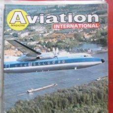 Militaria: AVIATION INTERNATIONAL Nº 798. Lote 263099385