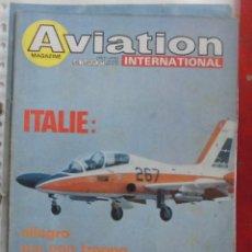 Militaria: AVIATION INTERNATIONAL Nº 799. Lote 263099410