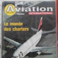 Militaria: AVIATION INTERNATIONAL Nº 802. Lote 263099480