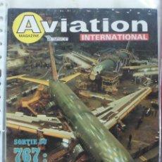 Militaria: AVIATION INTERNATIONAL Nº 807. Lote 263099550