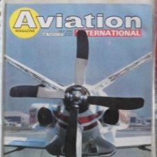 Militaria: AVIATION INTERNATIONAL Nº 812. Lote 263099610