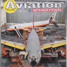 Militaria: AVIATION INTERNATIONAL Nº 816. Lote 263099650
