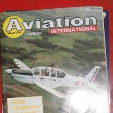 Militaria: AVIATION INTERNATIONAL Nº 823. Lote 263099690