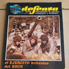 Militaria: REVISTA DEFENSA N° 46 , FEBRERO 1982. Lote 263125610
