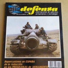 Militaria: REVISTA DEFENSA N° 145 , DICIEMBRE 1990. Lote 263126375