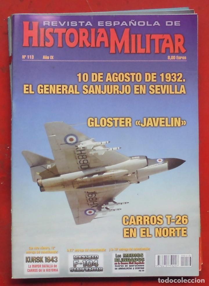 REVISTA ESPAÑOLA DE HISTORIA MILITAR Nº 113 (Militar - Revistas y Periódicos Militares)