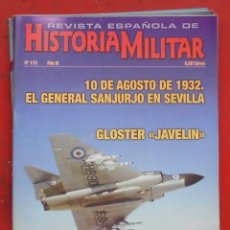 Militaria: REVISTA ESPAÑOLA DE HISTORIA MILITAR Nº 113. Lote 263614080