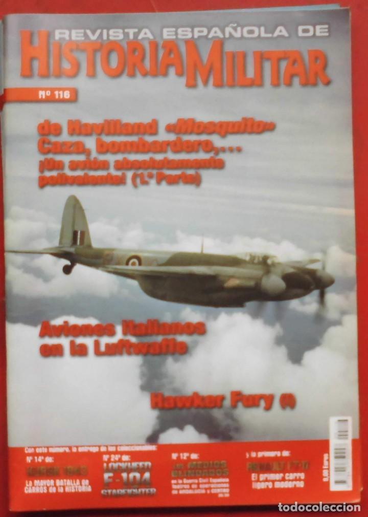 REVISTA ESPAÑOLA DE HISTORIA MILITAR Nº 116 (Militar - Revistas y Periódicos Militares)