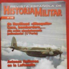 Militaria: REVISTA ESPAÑOLA DE HISTORIA MILITAR Nº 116. Lote 263614085