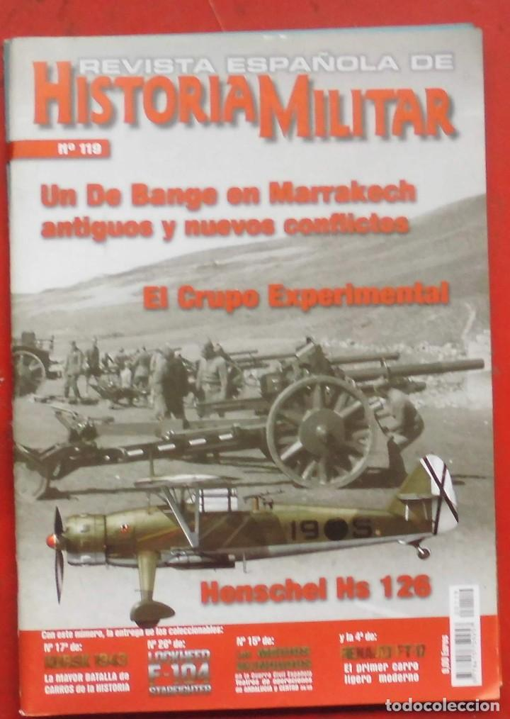 REVISTA ESPAÑOLA DE HISTORIA MILITAR Nº 119 (Militar - Revistas y Periódicos Militares)