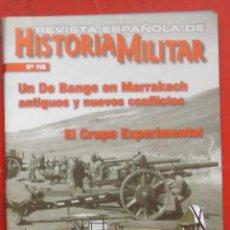 Militaria: REVISTA ESPAÑOLA DE HISTORIA MILITAR Nº 119. Lote 263614100