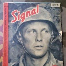 Militaria: SIGNAL - 1942 - EDICIÓN FRANCESA - REVISTA DE PROPAGANDA NAZI, ALEMANIA, SEGUNDA GUERRA MUNDIAL. Lote 263966680
