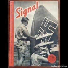 Militaria: REVISTAS SIGNAL EN ESPAÑOL A 5.99 €/UNIDAD. NAZI. III REICH.. Lote 204471261