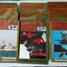 Militaria: LOTE REVISTAS TECNOLOGIA MILITAR 1986 A 1990. Lote 266717753