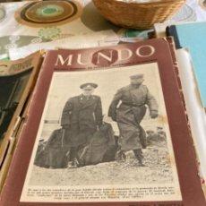 Militaria: LOTE DE PERIÓDICOS MUNDO, TODOS DE LA SEGUNDA GUERRA MUNDIAL MÁS UN ABC. Lote 267010024