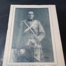Militaria: BOLETÍN SOMATENES 5 REGIÓN ESPECIAL ZARAGOZA Y ESCATRÓN 1927. Lote 267172669