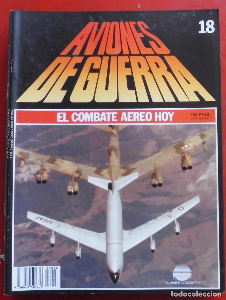 AVIONES DE GUERRA PLANETA AGOSTINI. FASCÍCULO Nº 18 (Militar - Revistas y Periódicos Militares)