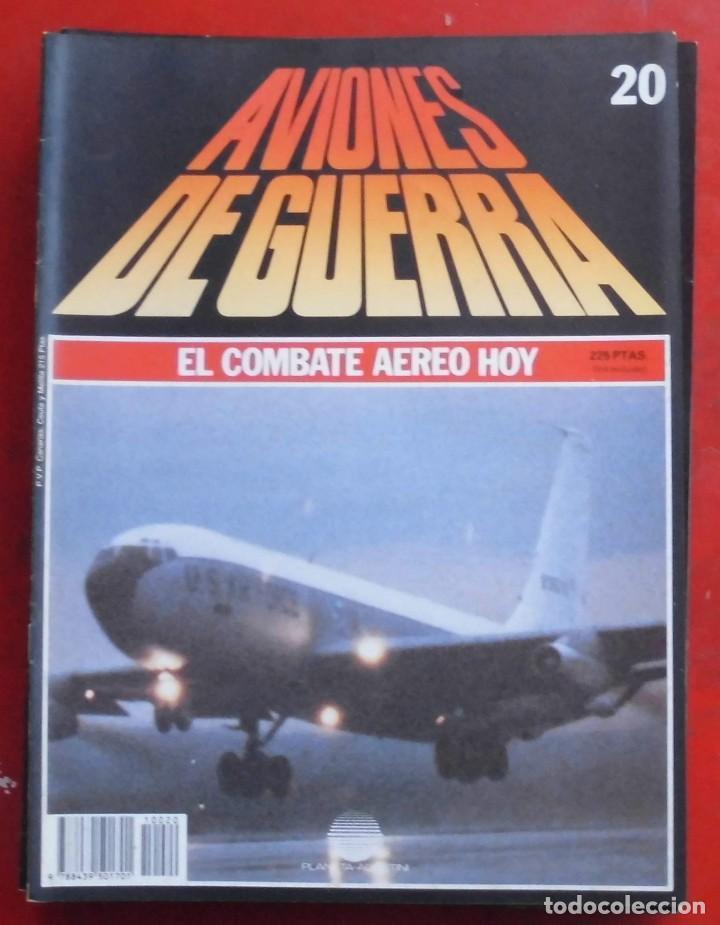 AVIONES DE GUERRA PLANETA AGOSTINI. FASCÍCULO Nº 20 (Militar - Revistas y Periódicos Militares)
