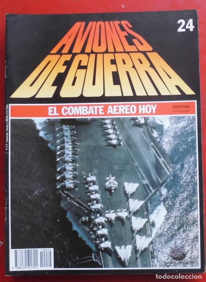 AVIONES DE GUERRA PLANETA AGOSTINI. FASCÍCULO Nº 24 (Militar - Revistas y Periódicos Militares)