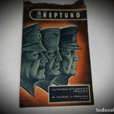 Militaria: LA MARINA MERCANTE EDITA NEPTUNO -ESPAÑOL/PORTUGUES AÑO 1943. Lote 268883529