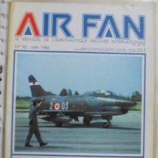 Militaria: AIR FAN AÑO 1986 Nº 90 MAYO. Lote 269187630