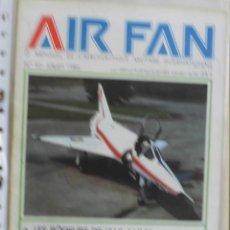 Militaria: AIR FAN AÑO 1986 Nº 92 JULIO. Lote 269187678