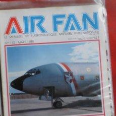Militaria: AIR FAN AÑO 1988 Nº 112 MARZO. Lote 269210573