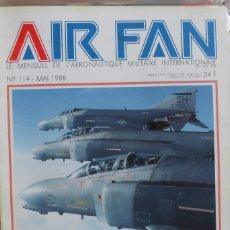 Militaria: AIR FAN AÑO 1988 Nº 114 MAYO. Lote 269211318