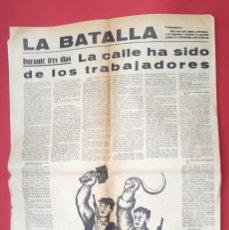 Militaria: POUM - LA BATALLA - MAYO 1937 - FETS DE MAIG - JORNADAS DE MAYO. Lote 269312438