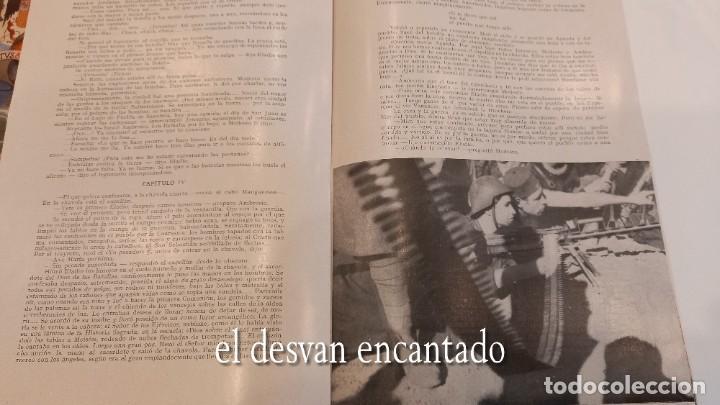 Militaria: Revista VERTICE. Falange Española. Año 1939. Incluye un encartable literario. VER FOTOS - Foto 4 - 272465418