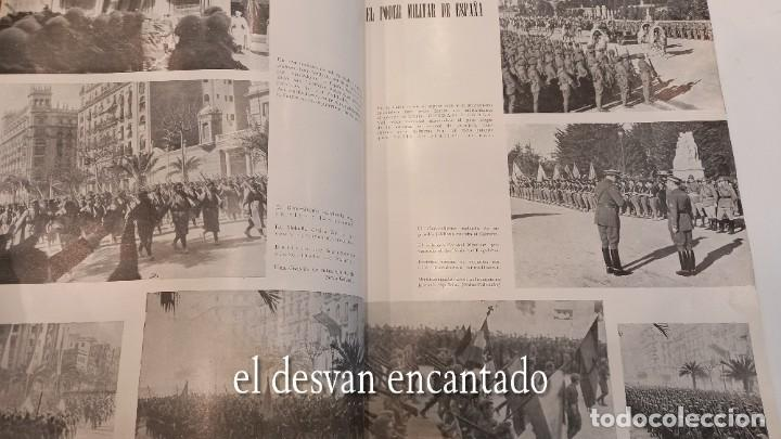 Militaria: Revista VERTICE. Falange Española. Año 1939. Incluye un encartable literario. VER FOTOS - Foto 6 - 272465418