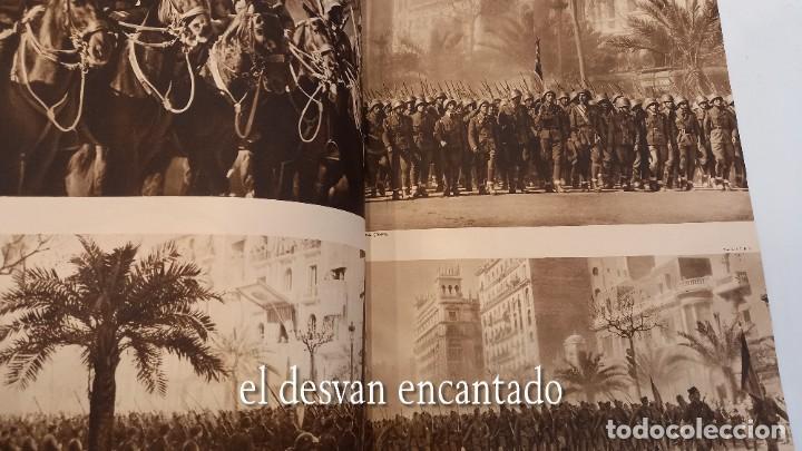 Militaria: Revista VERTICE. Falange Española. Año 1939. Incluye un encartable literario. VER FOTOS - Foto 7 - 272465418