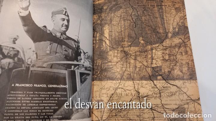 Militaria: Revista VERTICE. Falange Española. Año 1939. Incluye un encartable literario. VER FOTOS - Foto 8 - 272465418