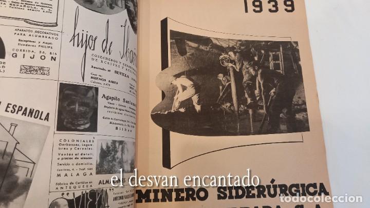 Militaria: Revista VERTICE. Falange Española. Año 1939. Incluye un encartable literario. VER FOTOS - Foto 9 - 272465418