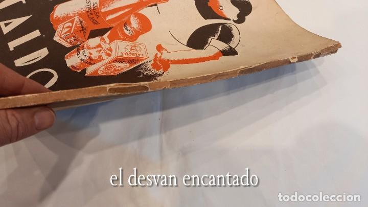 Militaria: Revista VERTICE. Falange Española. Año 1939. Incluye un encartable literario. VER FOTOS - Foto 11 - 272465418