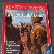 Militaria: REVISTA ESPAÑOLA DE DEFENSA N° 98 1996 SUBOFICIALES. INFANTERÍA DE MARINA. FAMET. ISRAEL.. Lote 275514478