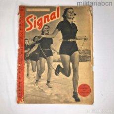 Militaria: ALEMANIA III REICH. REVISTA SIGNAL Nº 6 NÚMERO DE MARZO DE 1941.. Lote 276912198